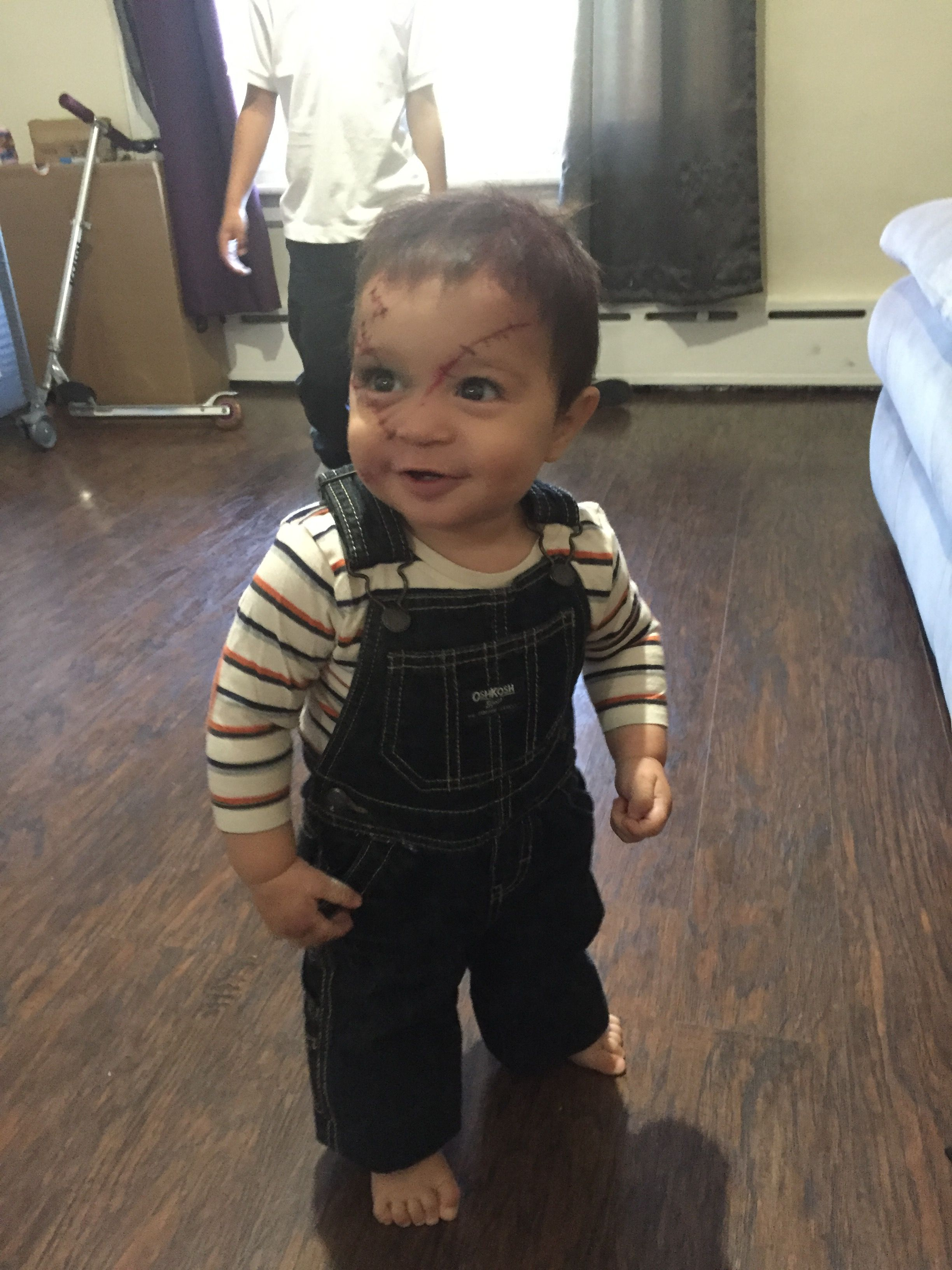 Diy chucky baby costume Baby costumes, Costumes, Fashion