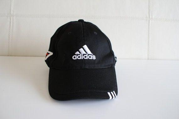 42ad8278b65 Vintage Adidas Fitted Cap Hat Adidas Trefoil Taylor by Amilialia ...