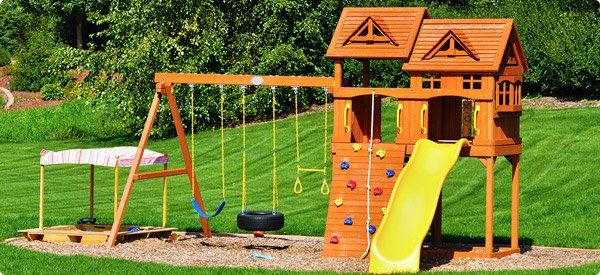 Delightful 10 Essentials For A Backyard Playground