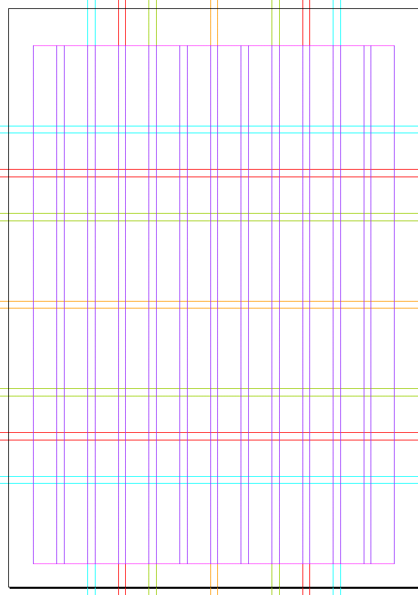 Karl Gerstner designed this grid for his work on the ...