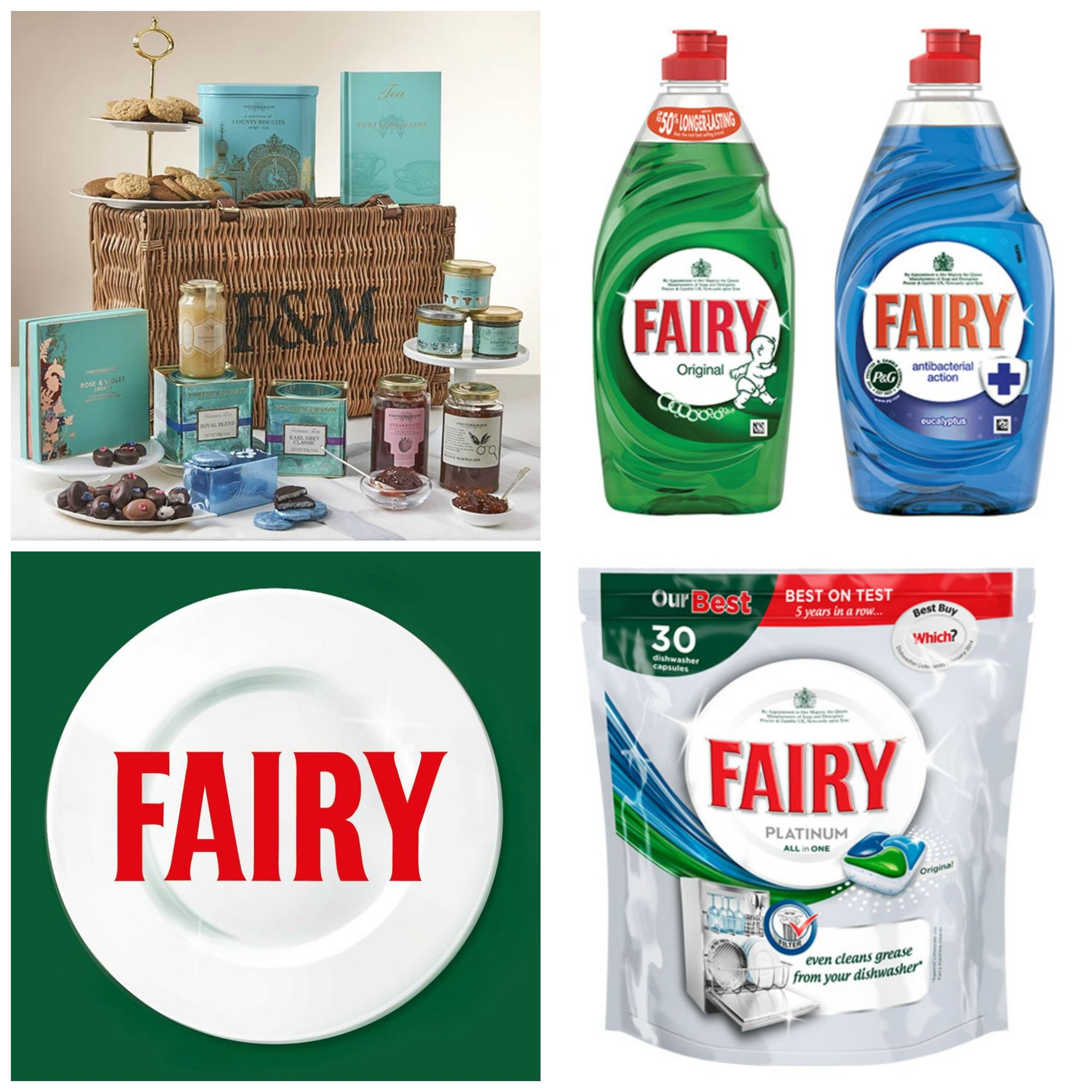 Competition To Win Year S Supply Of Fairy And Luxury Fortnum