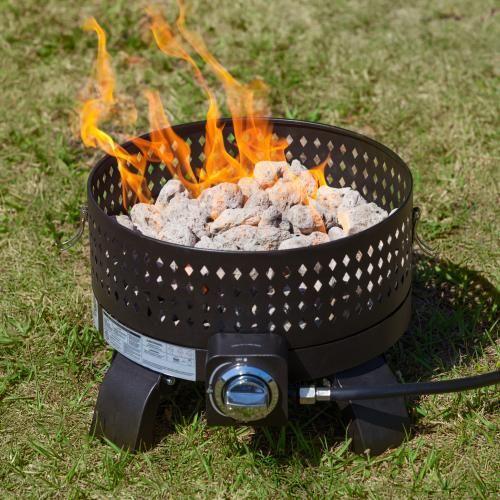 Fire Sense 19 60 000 Btu Propane Portable Fire Pit Campfire