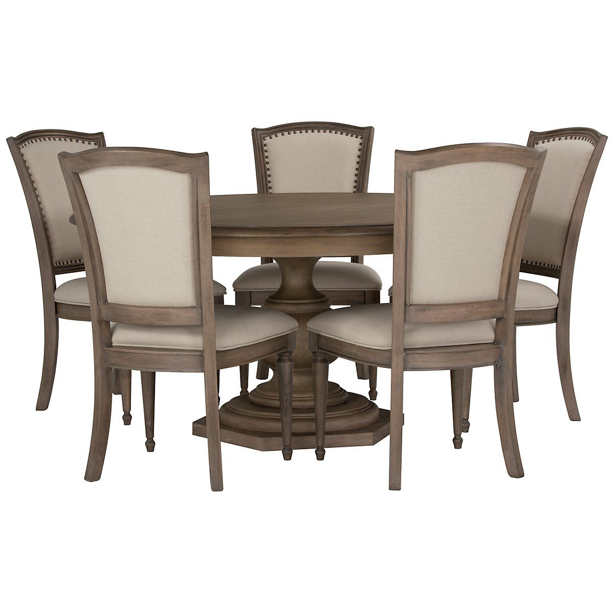 Haddie Light Tone Round Dining Room Home Decor Pinterest Woods - Dining room table for four