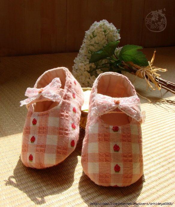 Шьём туфельки | Детская обувь, Малышки и Детская одежда