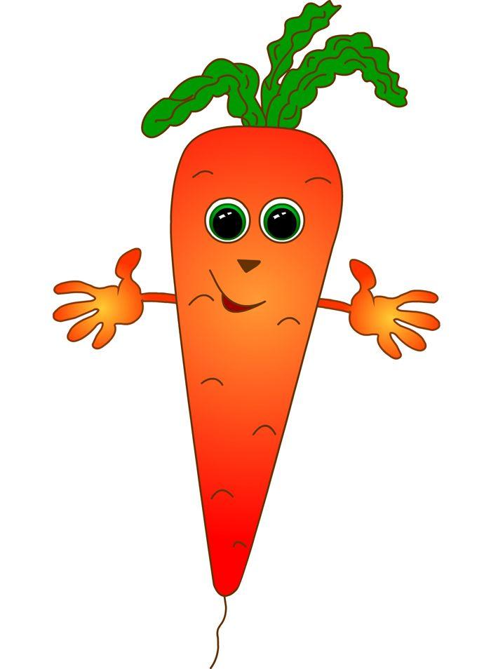 Carrot Paper Craft Meyve Sanat Beslenme