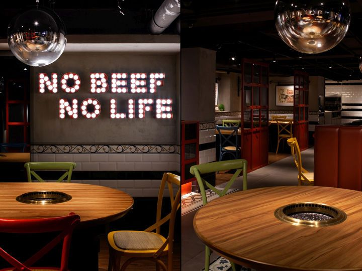Diner inspired bbq restaurants restaurant design
