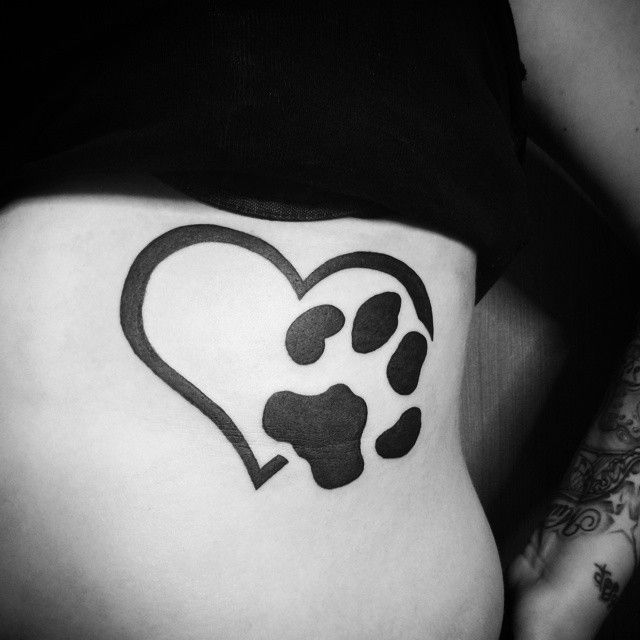 65 Best Paw Print Tattoo Meanings And Designs To Appreciate Your