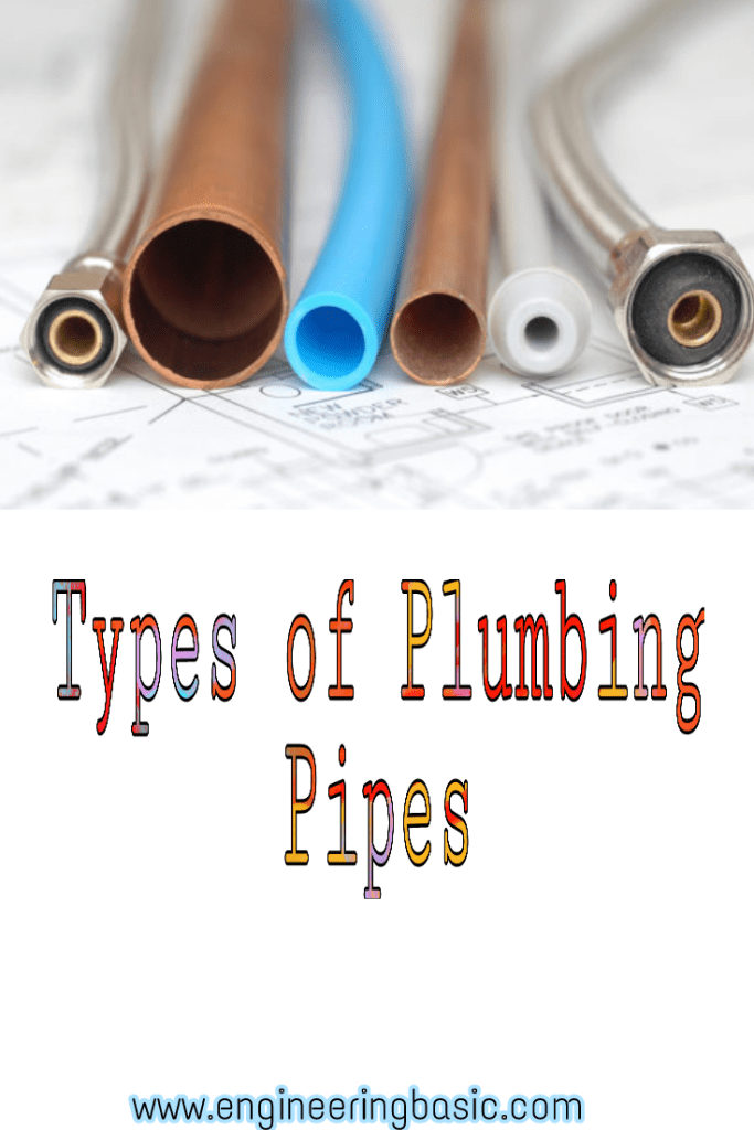 Types Of Plumbing Pipes Types Of Plumbing Pex Plumbing