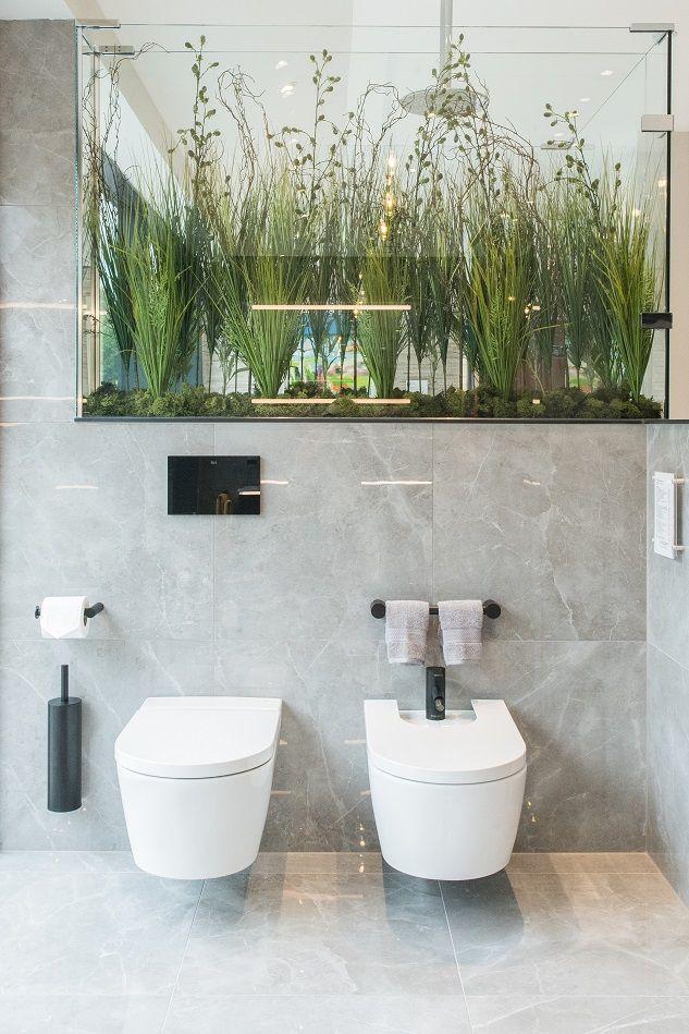 Roca inspira wall mounted wc and bidet samuel heath - Black and chrome bathroom accessories ...