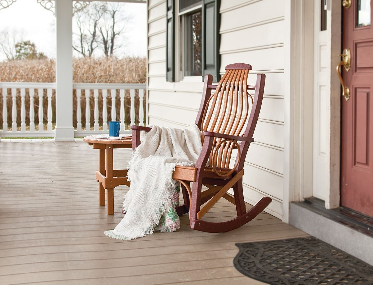 Bentwood poly rocker rocking chair porch outdoor