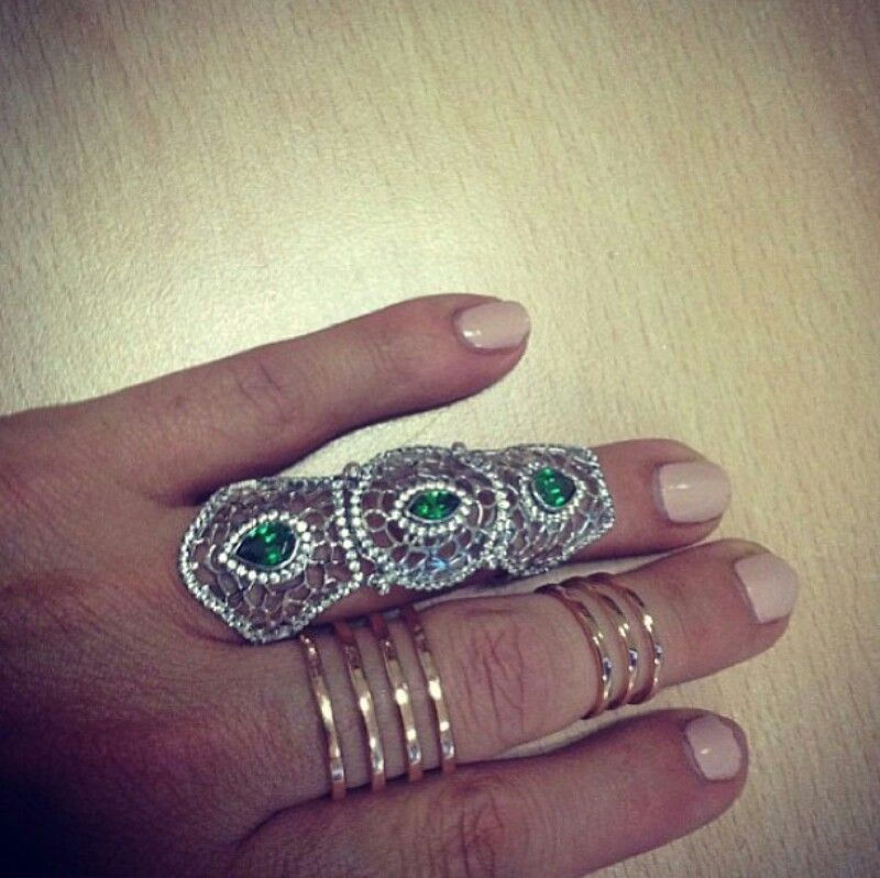 armor and knuckle rings instagram accessories