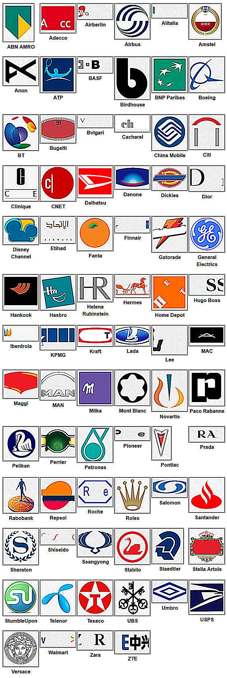 Logo Game Answers Level 6 : answers, level, Answers, Level, Cheats, Quiz,, Answers,
