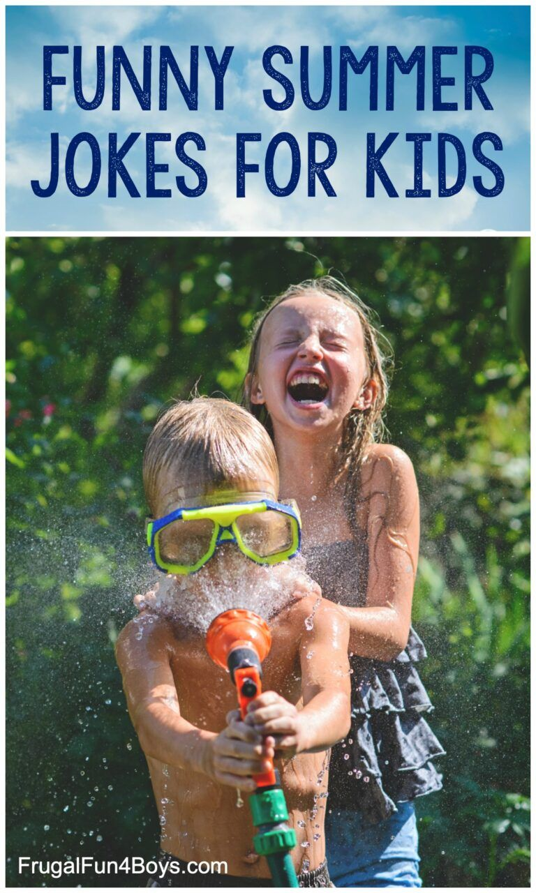 Hilarious Summer Jokes that Kids Will Love Frugal Fun