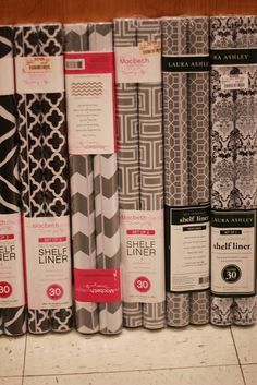 Tj Ma Shelf Liner Could Put On Shelves In Kitchen And Cute