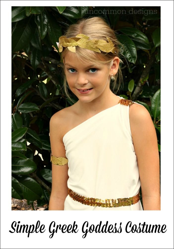 Easy Greek Goddess Costume | Greek goddess costume ...