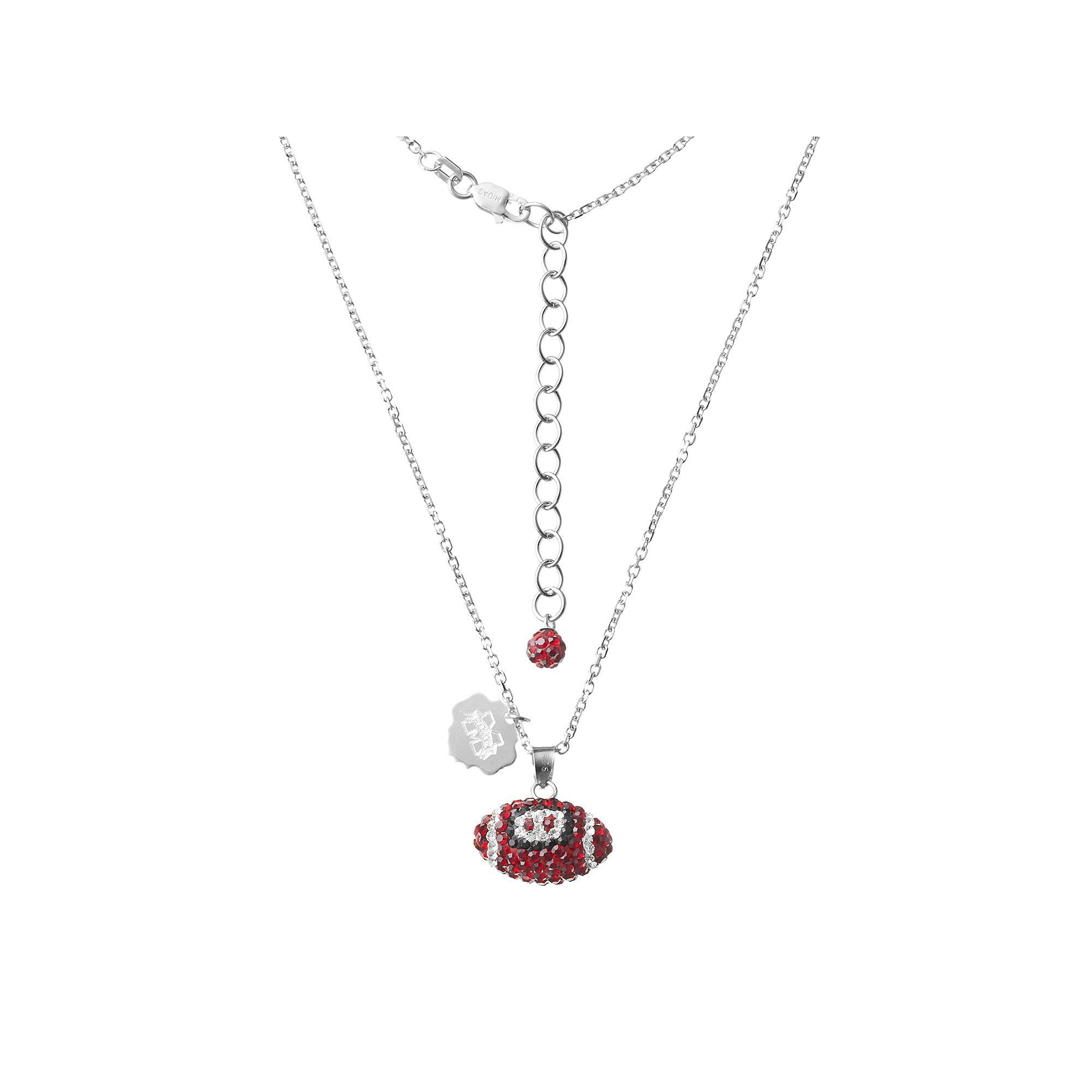 dsc dat products sterling silvia football who pendant