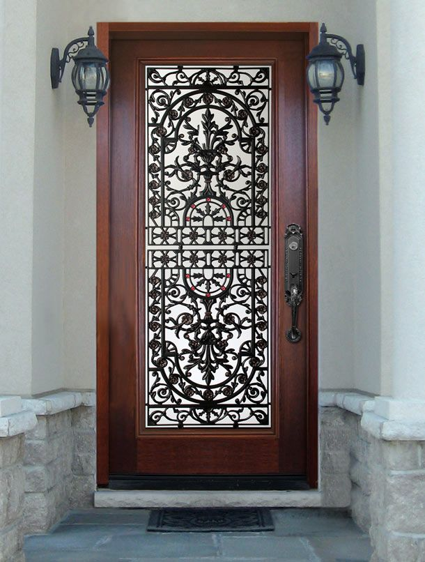 Wood Door With Glass Insert Kitchen Design Pinterest Wood