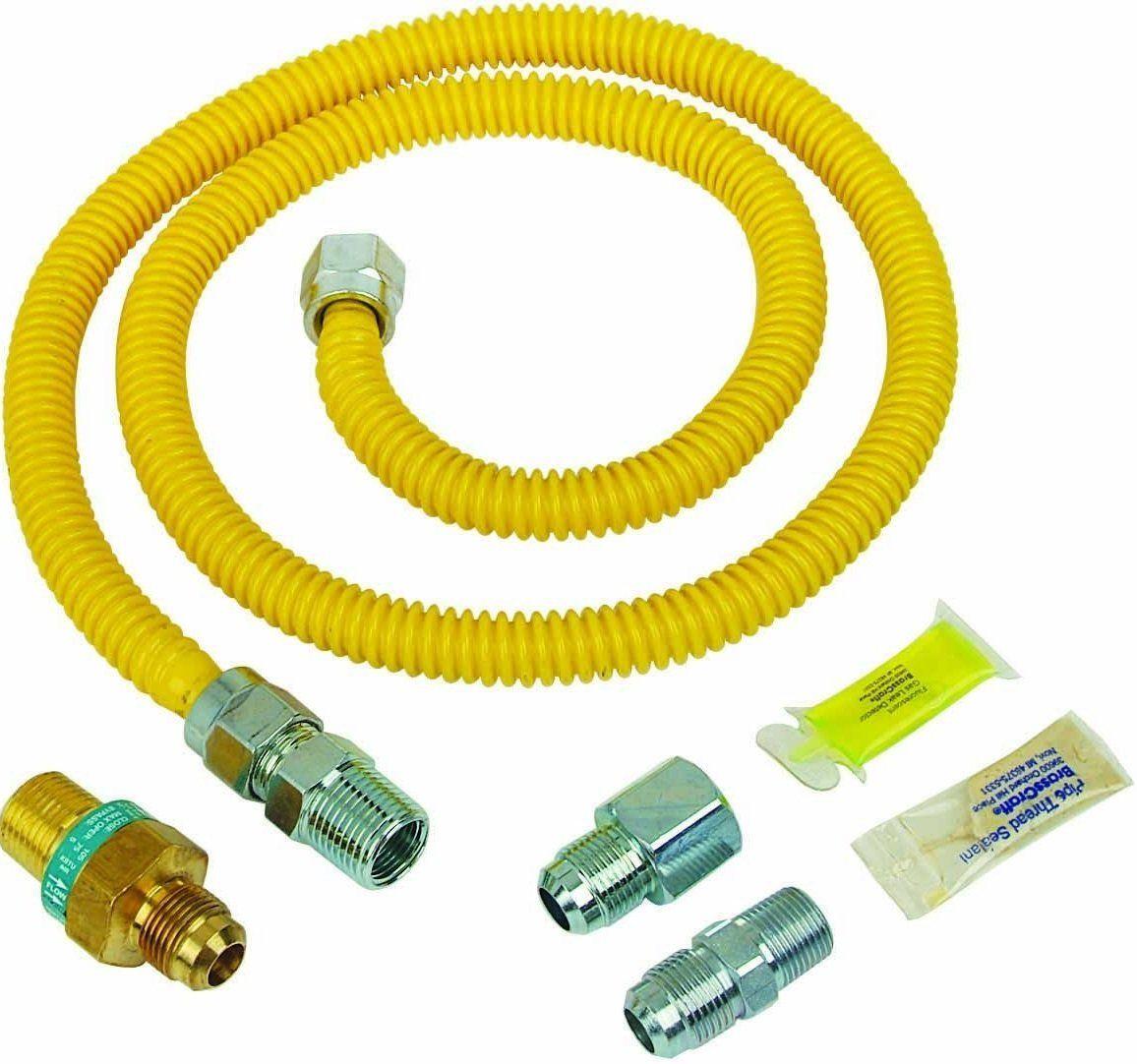 Brasscraft psc1106 safetyplus gas installation kit for