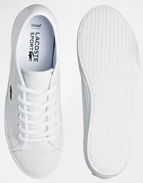8245a57c1a2 Enlarge Lacoste Ziane Sneaker Hi White Leather Trainers