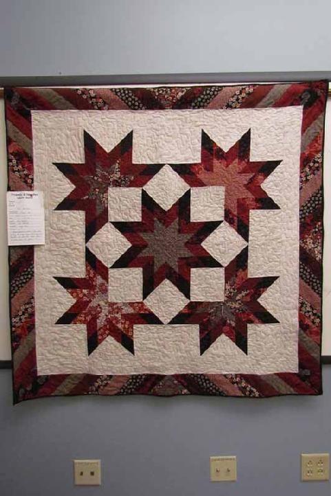 Texas Stars all over Japan by Kim Hazlett - japanese fabrics used ... : texas quilt guilds - Adamdwight.com