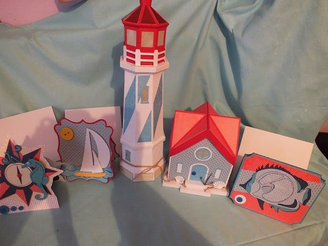 lighthouse etc from #svgcuts
