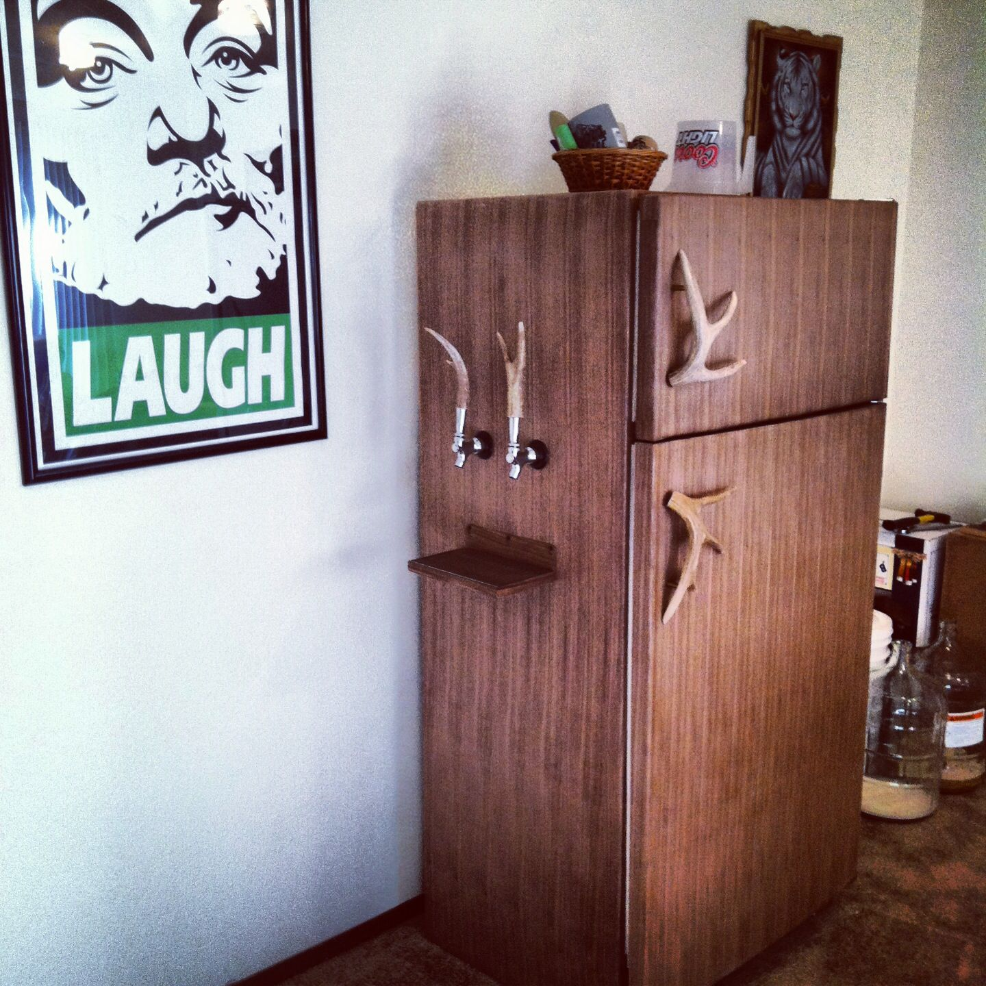 Kegerator Conversion Project I Worked On For My Home