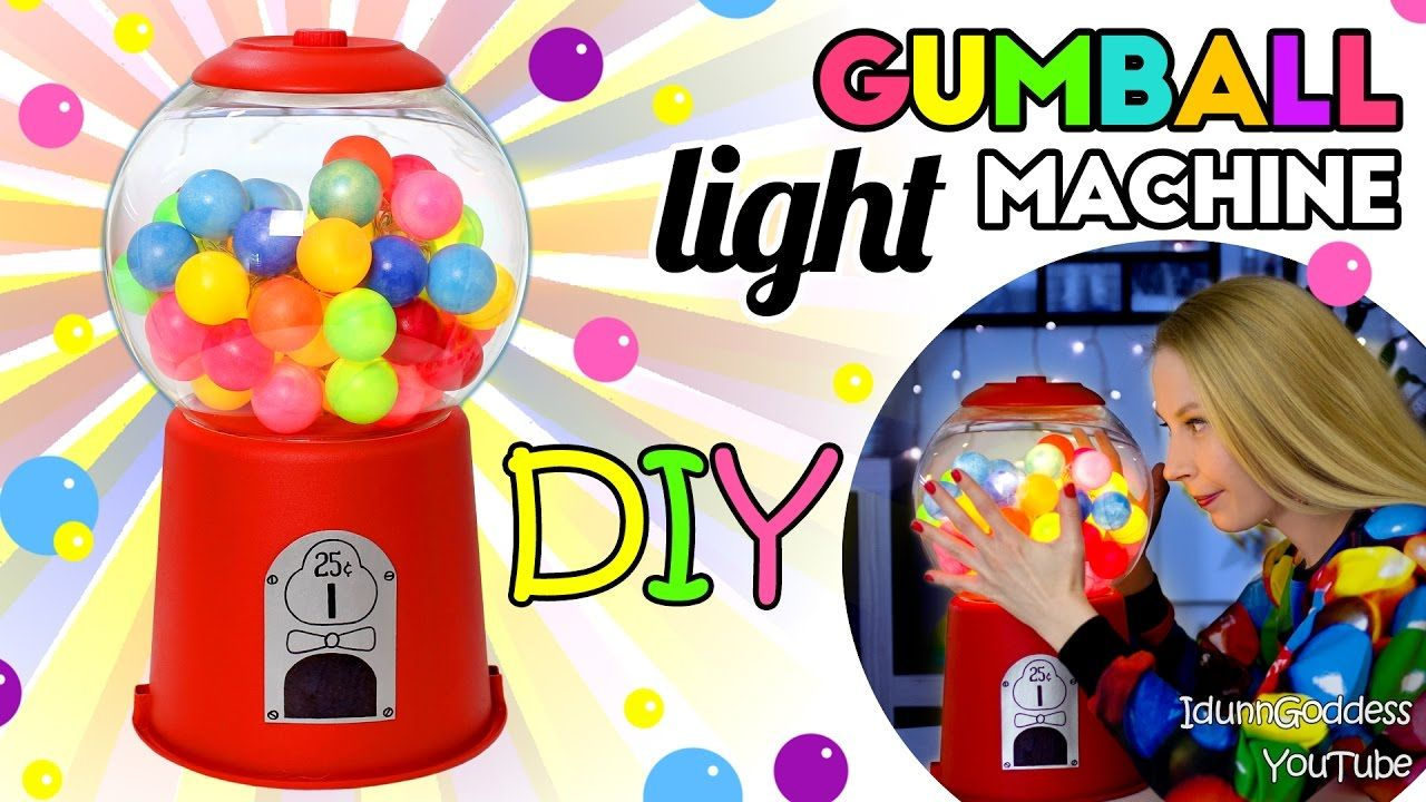 How To Make A Gumball Machine Light – DIY Gumball Machine Night Light Tu...