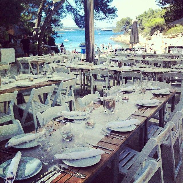 Post wedding event  set up..beach paella