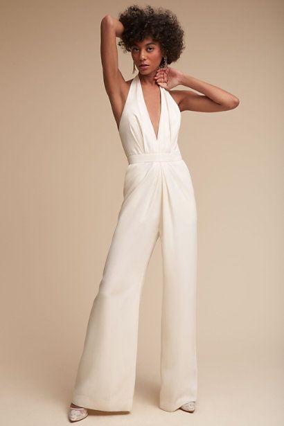Jill Stuart Mara Jumpsuit Bridal Jumpsuit Prom Dresses Vintage Wedding Jumpsuit