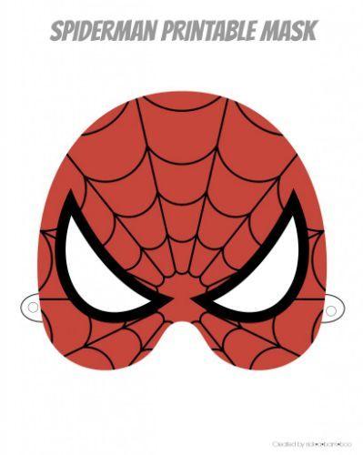 Printable Superhero Mask Printable | party | Pinterest