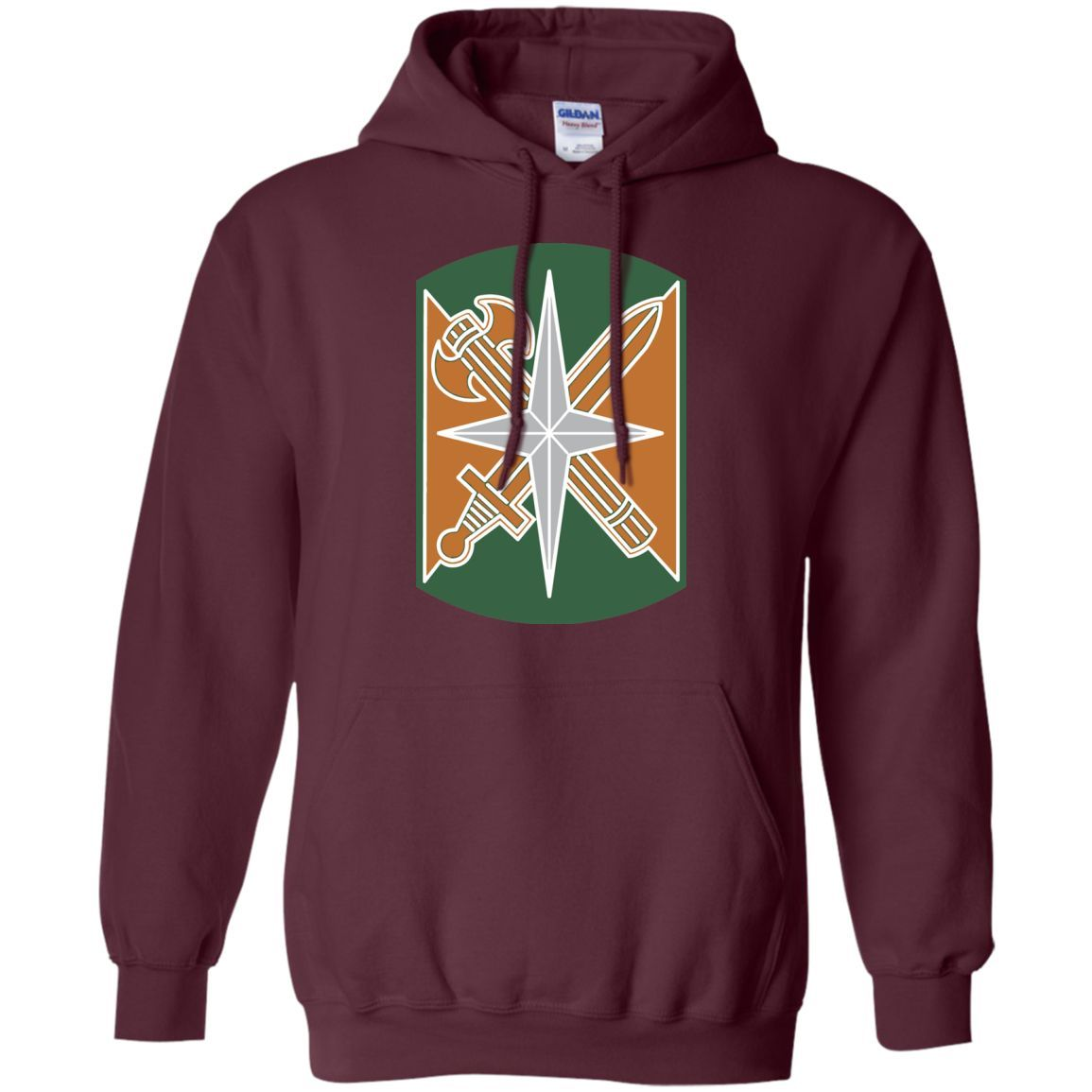 Army 14th Military Police Veteran Unit -01 Pullover Hoodie 8 oz