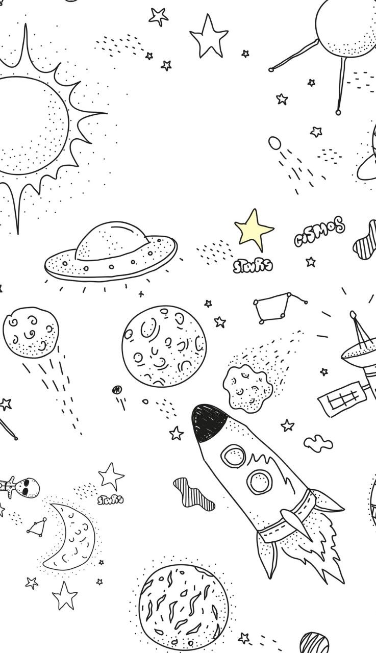 Aesthetic Coloring Sheets