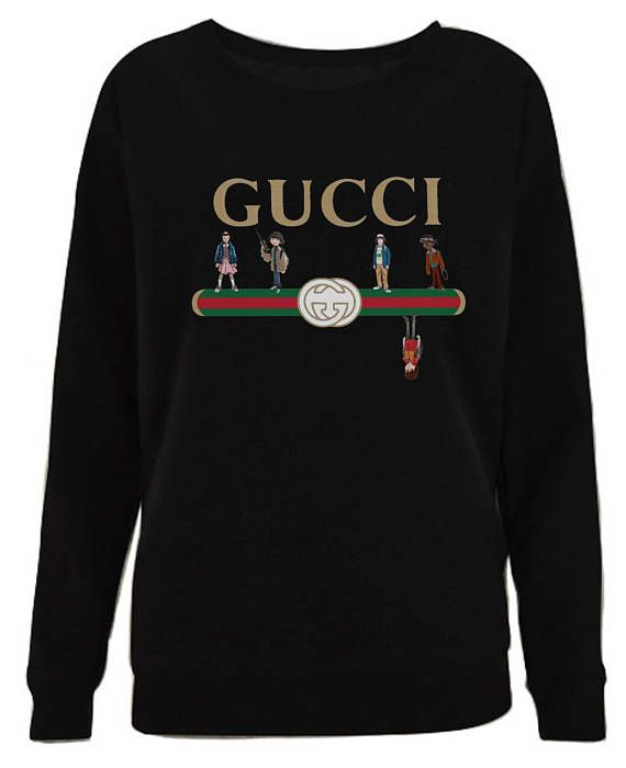 af9997efd8d Funny Gucci Stranger Things the upside down shirt Cotton Direct-to-garment  printing Eco