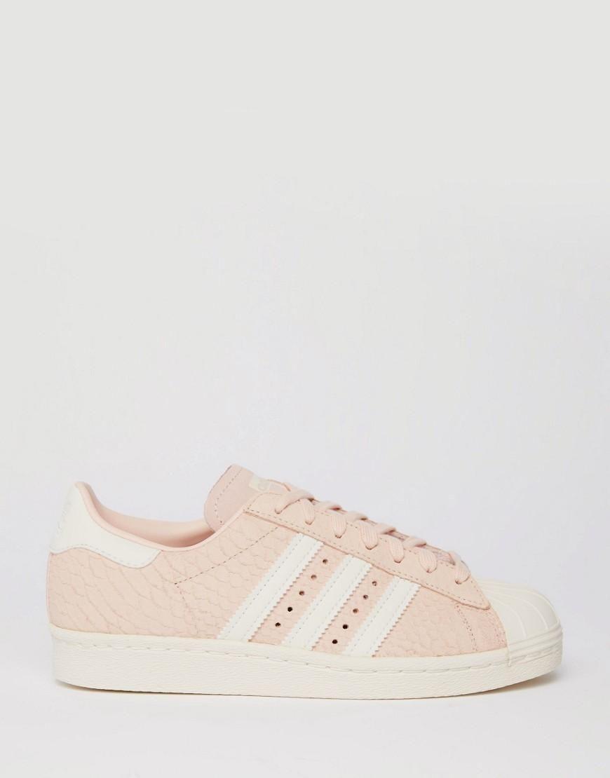 Pink   adidas Originals Blush Pink Superstar