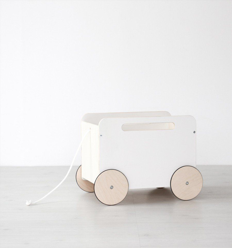 Ooh Noo Toy Chest on wheels (Pre Order)