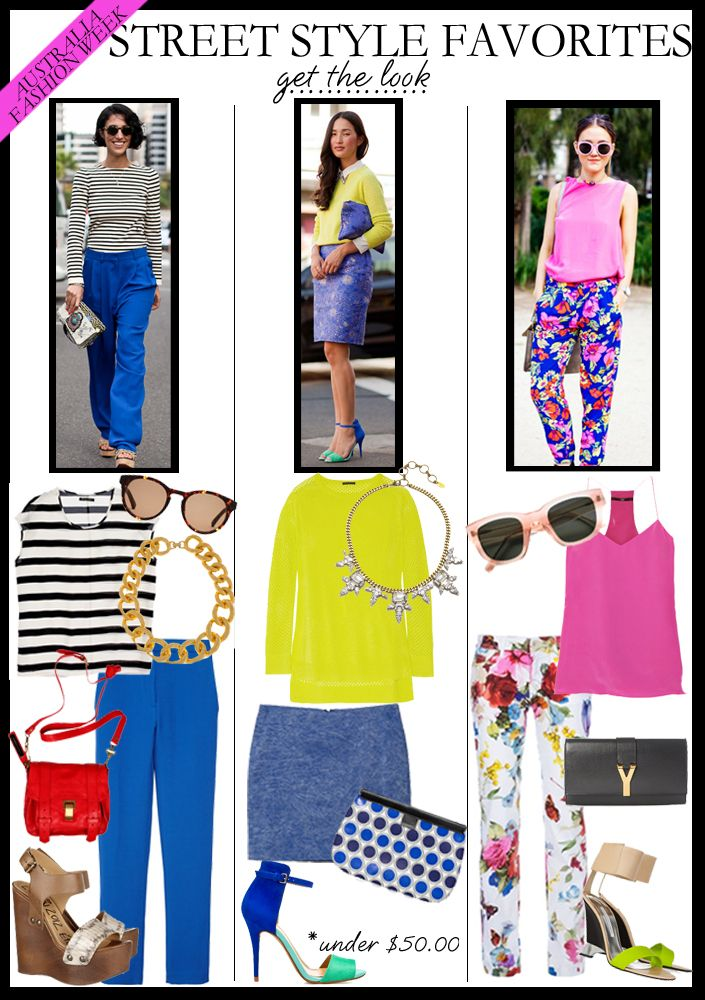 Street style, I would not wear floral pants, but for the young or the young at heart they are pretty cute.