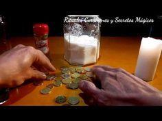 Ritual Para Atraer Con La Abundancia Con Monedas Canela Y Azúcar Youtube Hechizos De Dinero Ritual Te De Canela