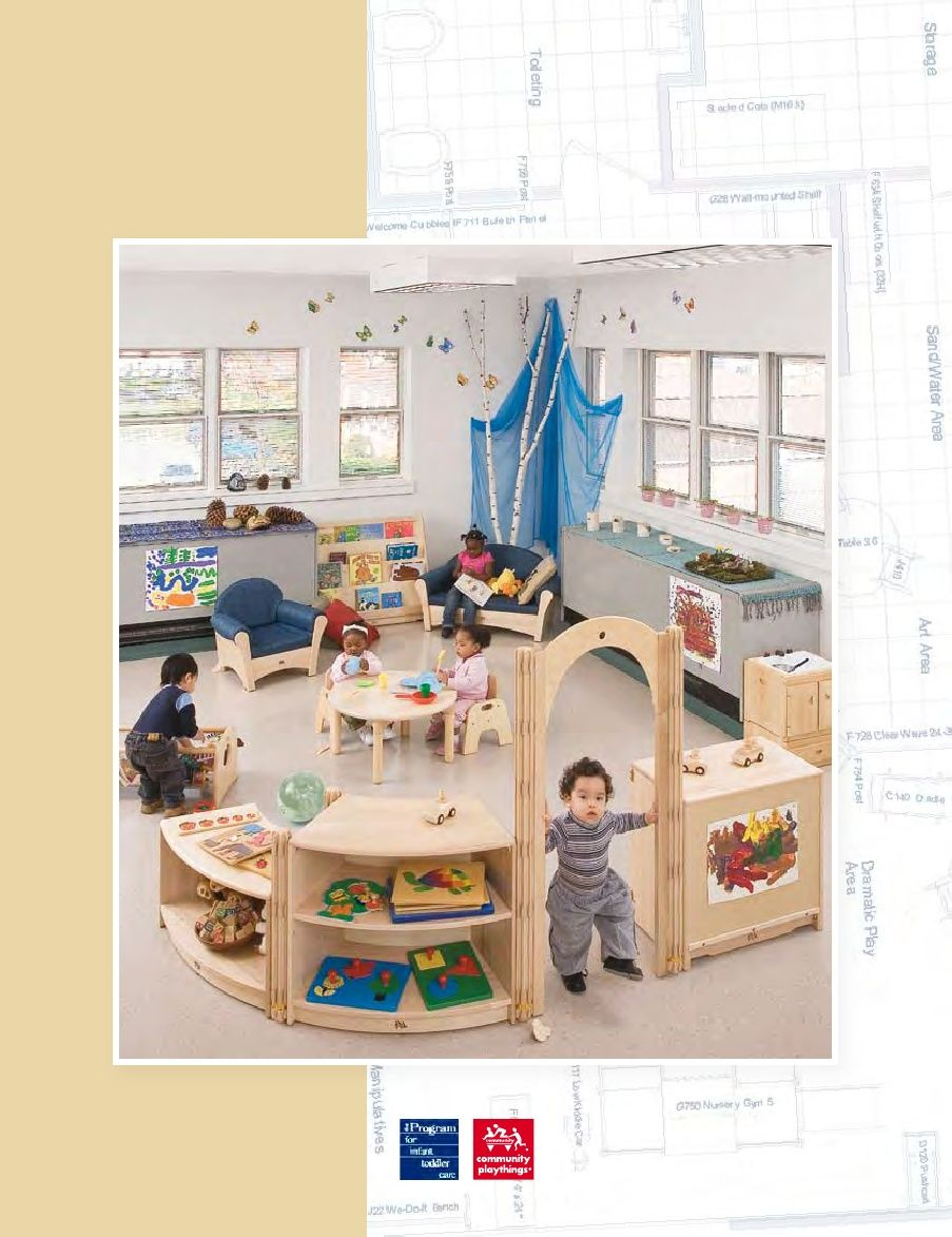 Kaplan Classroom Design ~ Infant and toddlers spaces design for a quality classroom