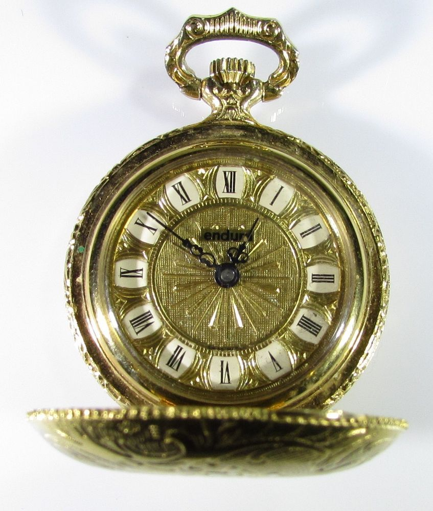 Full Hunter Modern Pocket Watches With Roman Numerals Ebay
