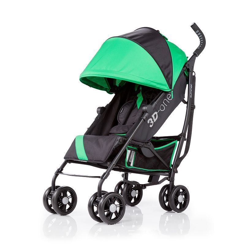 Summer Infant 3D One Convenience Stroller, Green Best