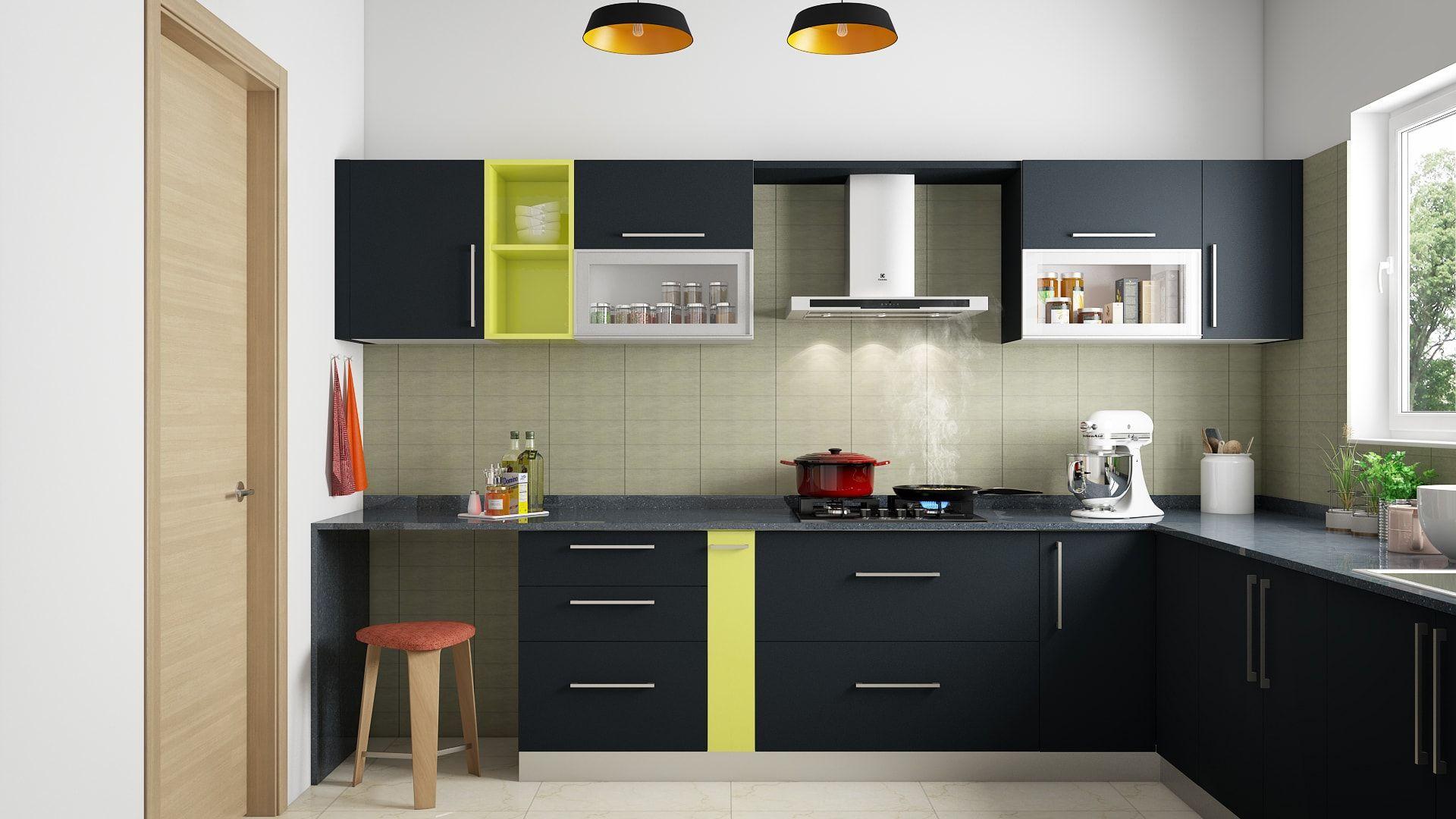 Modern Modular Kitchens   Modular kitchen design, Kitchen design ...