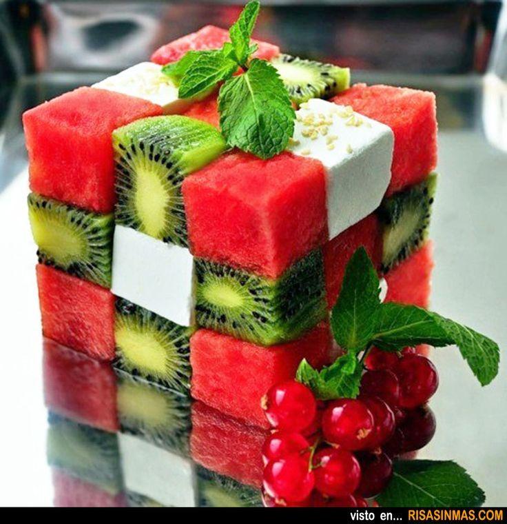 Hoy una ensalada fresca, fácil y original