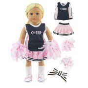 Pink and Navy Blue Cheerleader Cheerleading Uniform Outfit with Matching Pom Poms, Tennis Shoes, and Socks| Fits 18 American Girl Dolls, Madame Alexander, Our Generation, etc. | 18 Inch Doll Clothes #18inchcheerleaderclothes Pink and Navy Blue Cheerleader Cheerleading Uniform Outfit with Matching Pom Poms, Tennis Shoes, and Socks| Fits 18 American Girl Dolls, Madame Alexander, Our Generation, etc. | 18 Inch Doll Clothes #18inchcheerleaderclothes Pink and Navy Blue Cheerleader Cheerleading Unifo #18inchcheerleaderclothes