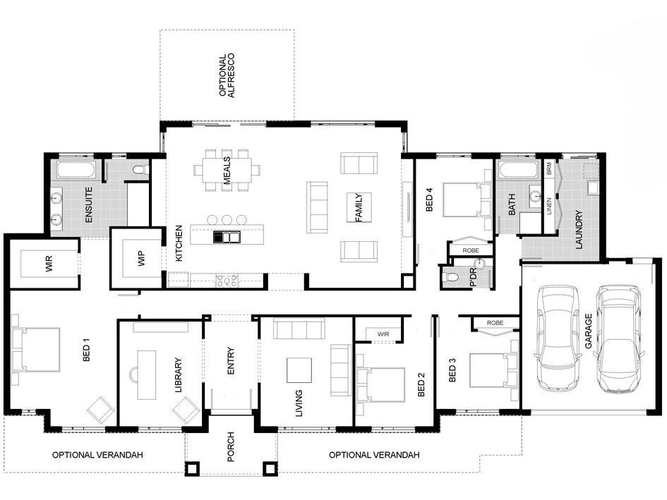 Delightful J G King Home Designs Part - 4: JG King Homes - The Sovereign 310 Floor Plan.