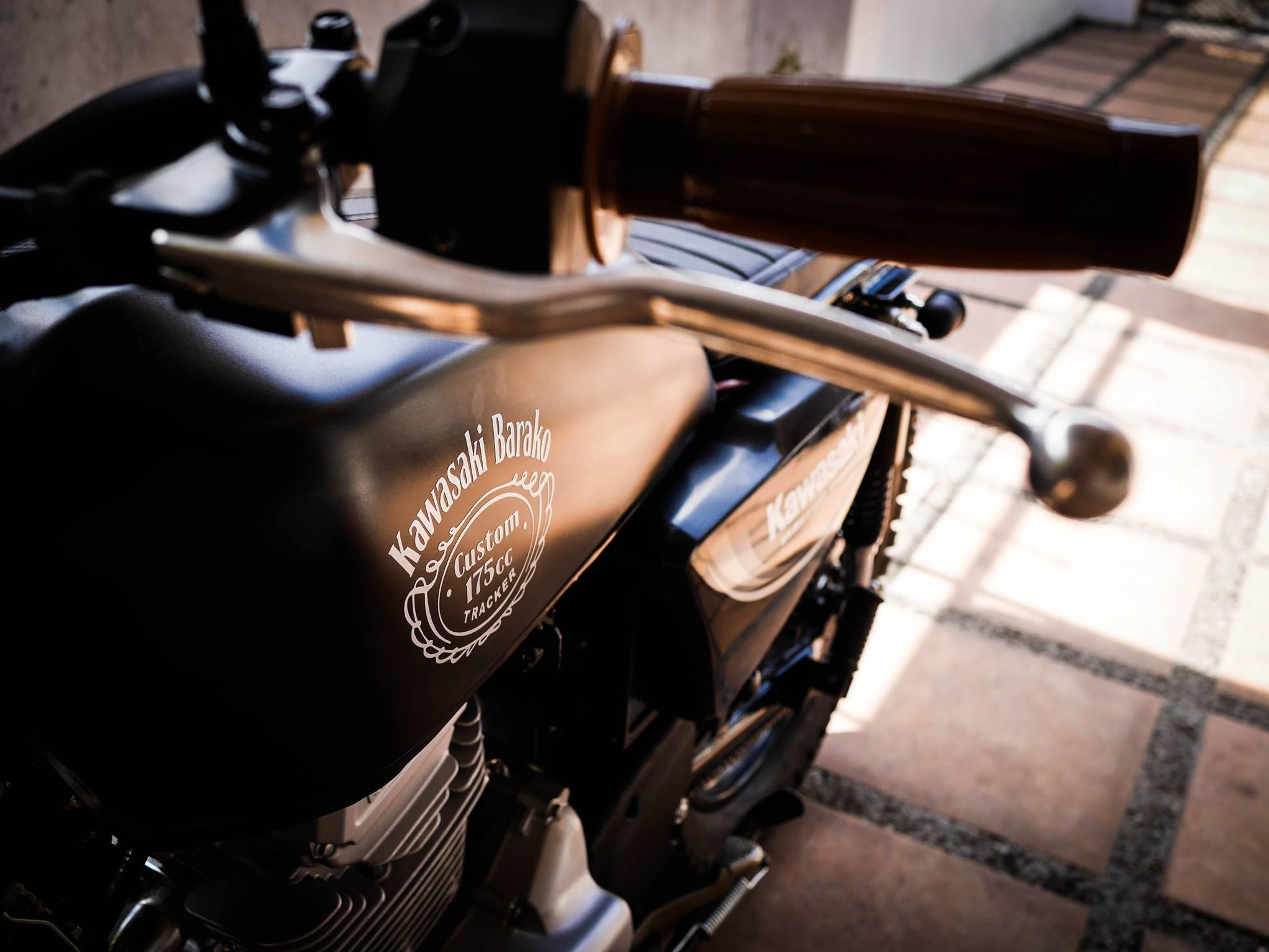 Bike Feature: Custom Kawasaki Barako II 175cc by Bim Pasia