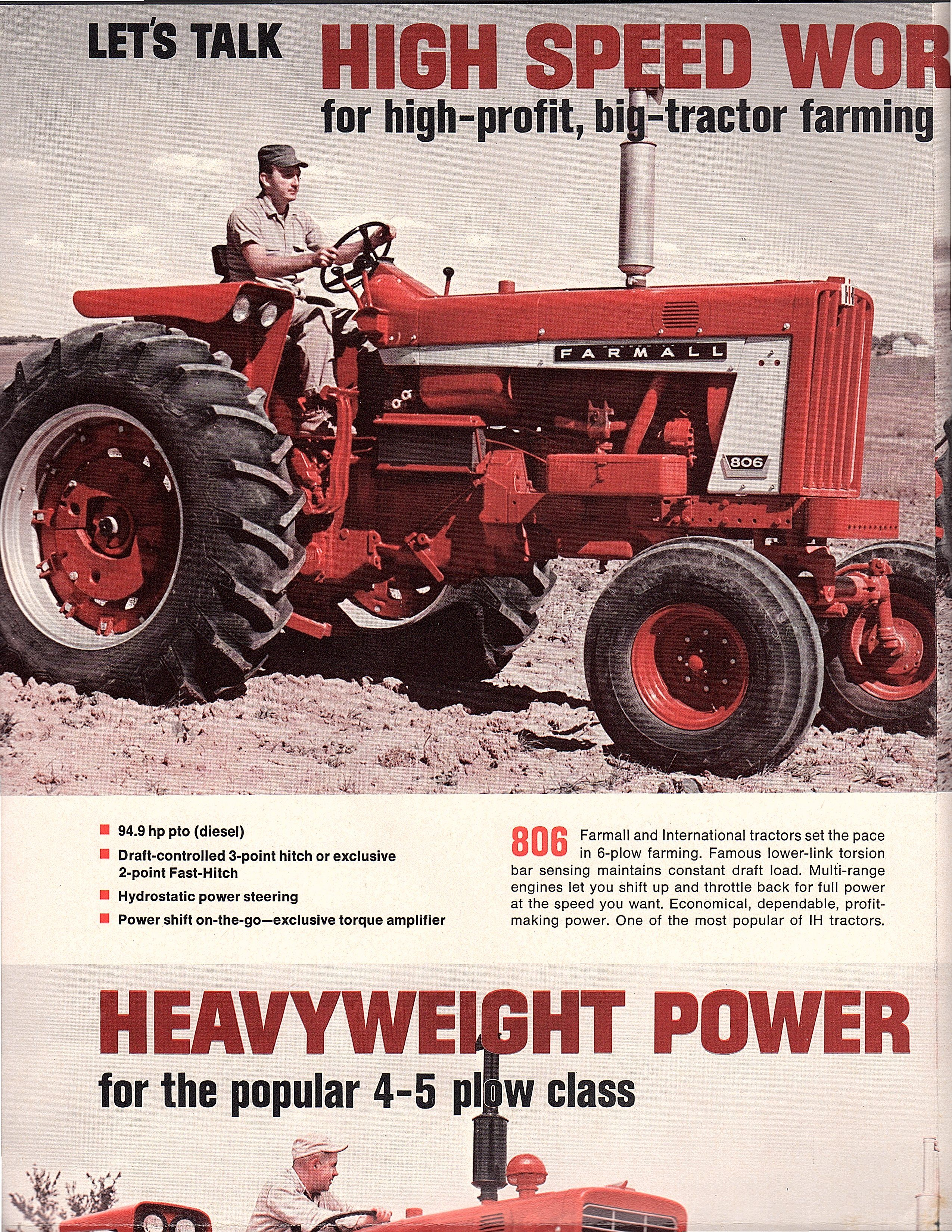 1967 Ih Let S Talk Power International Harvester Tractors
