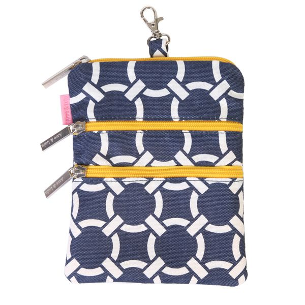 Slam Glam - Ame and Lulu Canary Golf Carryall, $27.98 The Ame and Lulu golf carryall is the perfect to hang on your golf bag to keep all your items organized.  #ladiesgolfaccessory #golfcarryall