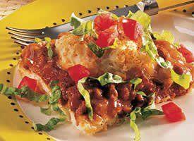 California Taco Chili Bake Recipe Recipes Mexican Food Recipes Taco Chili