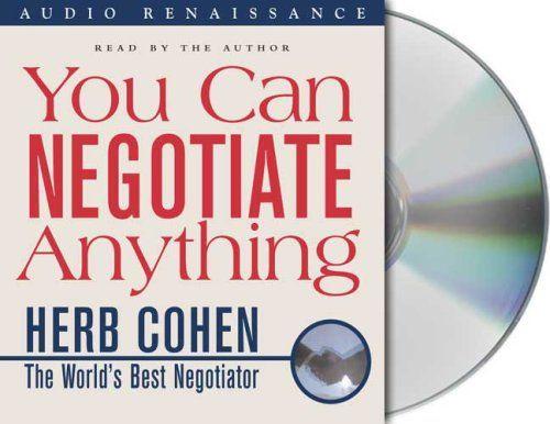 Download Pdf You Can Negotiate Anything Free Epub Mobi Ebooks