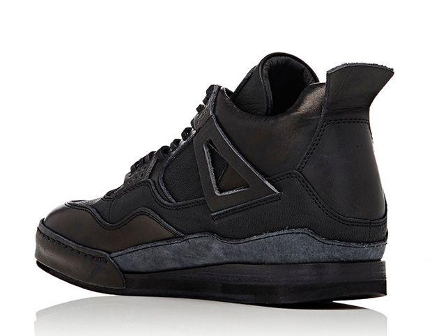 "sale retailer dc671 a7b7c Air Jordan 4 by Hender Scheme ""Triple Black"" – Air Jordan ..."